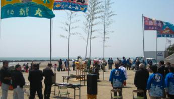 令和元年5月1日は、九十九里町の「海開き式」へ!
