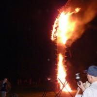 「虫おくり」7月30日は炎の伝統行事をお楽しみください!