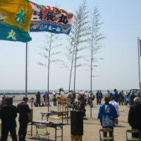 4月29日は、九十九里町の「海開き式」へ!